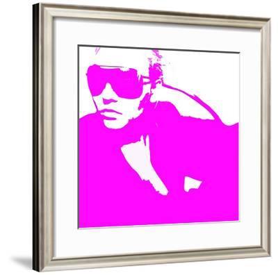 Niki Pink-NaxArt-Framed Art Print