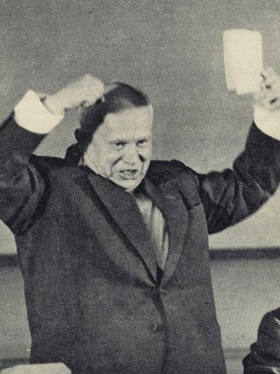 Nikita Khrushchev--Photographic Print