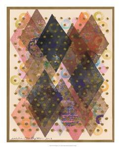 Inked Triangles I by Nikki Galapon