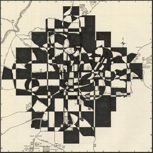 Modern Map of Atlanta by Nikki Galapon