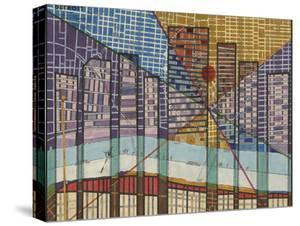 Modern Map of Detroit by Nikki Galapon