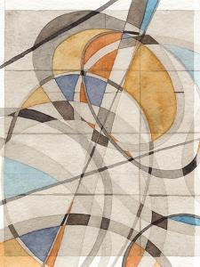 Ovals & Lines I by Nikki Galapon