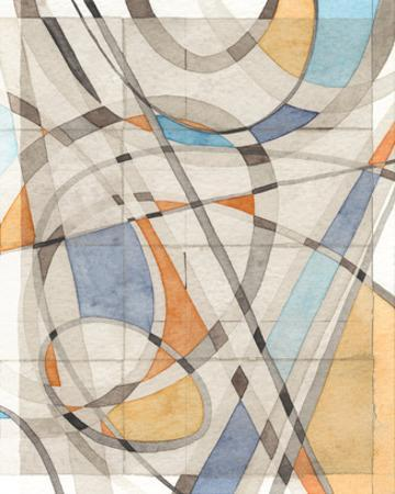 Ovals & Lines II by Nikki Galapon