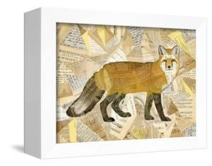Red Fox Collage I by Nikki Galapon