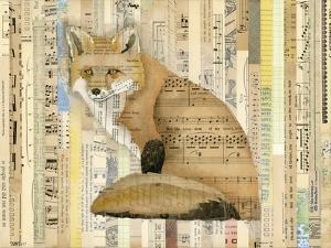 Red Fox Collage II by Nikki Galapon