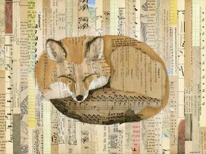 Red Fox Collage III by Nikki Galapon