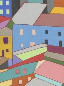 Rooftops in Color I by Nikki Galapon