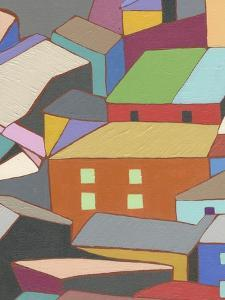 Rooftops in Color III by Nikki Galapon