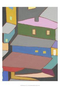Rooftops in Color IV by Nikki Galapon