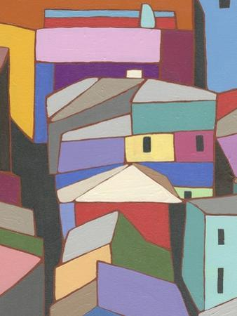 Rooftops in Color IX by Nikki Galapon