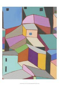 Rooftops in Color VIII by Nikki Galapon