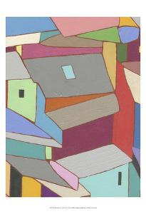 Rooftops in Color XI by Nikki Galapon