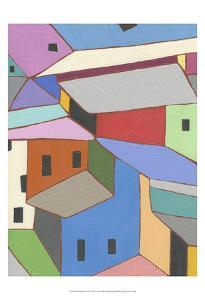 Rooftops in Color XII by Nikki Galapon
