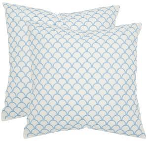 Nikki Pillow Pair - Blue