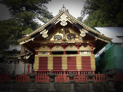 Nikko Architecture With Gold Roof-NaxArt-Art Print