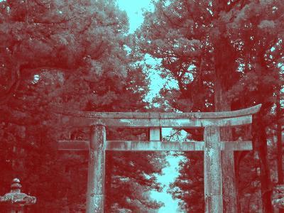 Nikko Gate-NaxArt-Art Print