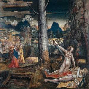 Pyramus and Thisbe, c.1513-14 by Niklaus Manuel Deutsch