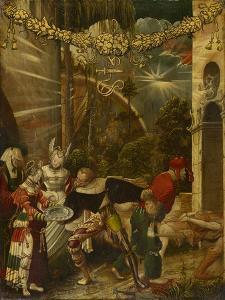 The Beheading of Saint John the Baptist, C.1517 by Niklaus Manuel Deutsch