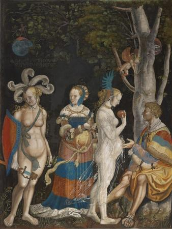 The Judgement of Paris, 1517-18