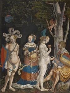 The Judgement of Paris, 1517-18 by Niklaus Manuel Deutsch