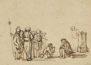 The Mocking of Christ by Niklaus Manuel Deutsch