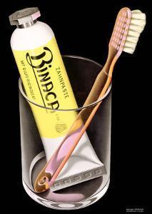 Binaca Toothpaste by Niklaus Stoecklin