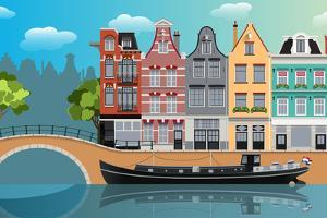 Amsterdam Landscape by Nikola Knezevic
