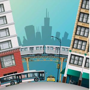 Chicago Traffic by Nikola Knezevic