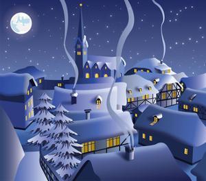 Christmas Night by Nikola Knezevic