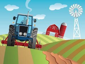 Farm Background by Nikola Knezevic