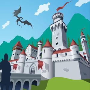 Medieval Castle by Nikola Knezevic