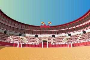 Spanish Bullfight Arena by Nikola Knezevic