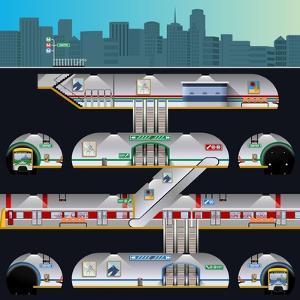 Subway Complex by Nikola Knezevic