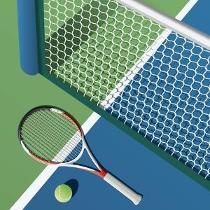 Tennis Court by Nikola Knezevic