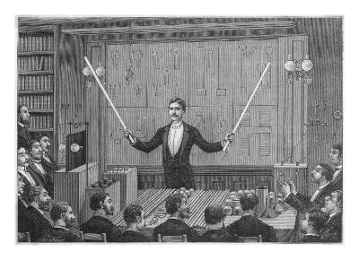 Nikola Tesla--Giclee Print