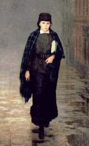 A Student, 1883 by Nikolai Aleksandrovich Yaroshenko