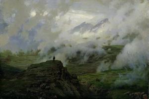 Mount El'Brus, Russia, 1894 by Nikolai Aleksandrovich Yaroshenko