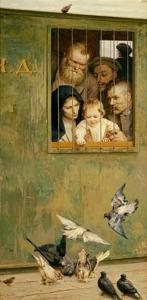 Life Is Everywhere, 1888 by Nikolai Alexandrovich Yaroshenko