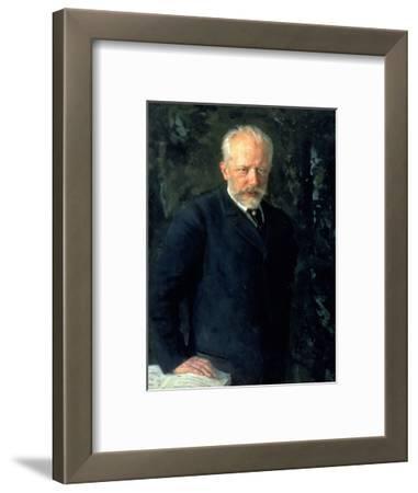Portrait of Piotr Ilyich Tchaikovsky (1840-93), Russian Composer, 1893
