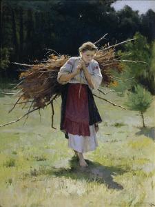 From the Forest, 1900 by Nikolai Kornilovich Pimonenko