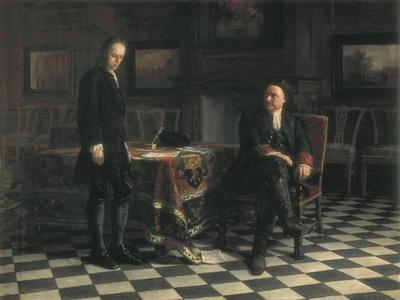 Peter the Great Interrogating the Tsarevich Alexey