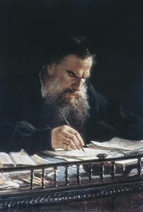 Portrait of Leon Tolstoy by Nikolai Nikolajevitch Gay