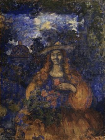 Design for the Opera Carmen by G. Bizet, C. 1905