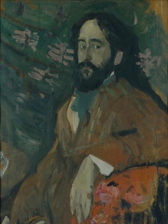 Portrait of the Painter Nikolay Milioti (1874-196), 1908