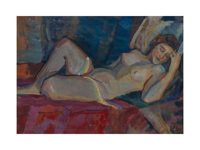 Nude. the Zone of Venus, 1919