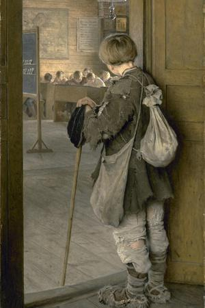 At the School Door, 1897