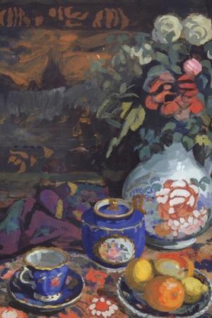 Still Life, 1914 by Nikolai Semyonovich Zaytsev