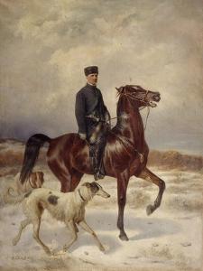 The Hunter by Nikolai Yegorovich Sverchkov