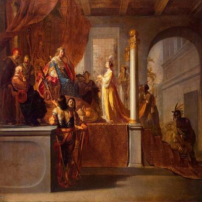 The Queen of Sheba before Solomon, C.1640