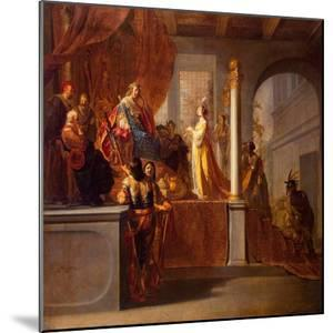 The Queen of Sheba before Solomon, C.1640 by Nikolaus Knüpfer